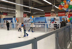 Unreal Ice synthetic ice rink in Sofia (Bulgaria) 3