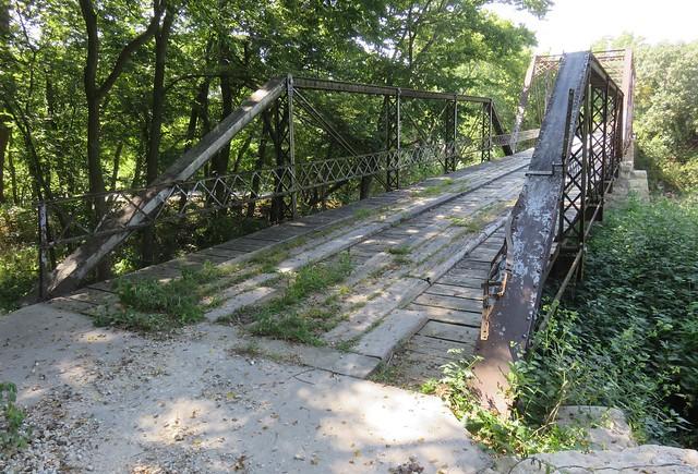 Little Walnut River Pratt Truss Bridge (Butler County, Kansas)