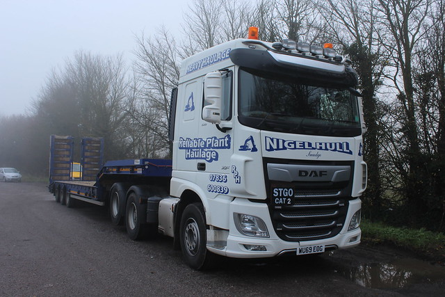 DAF XF - Reliable Plant Haulage