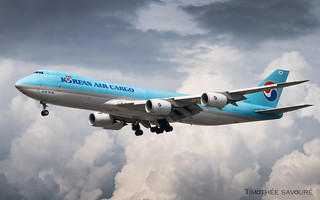FRA | Korean Air Cargo Boeing 747-8F | HL7623