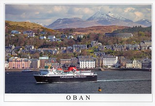 UK - Scotland - Oban (Resort town within the Argyll and Bute council area)