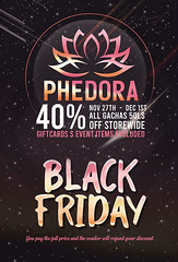 Phedora. BLACK FRIDAY SALES + GIVEAWAY!!! ♥