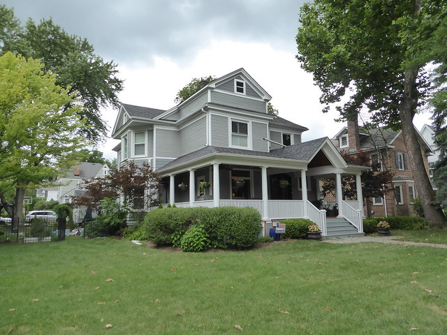 Wheaton, IL, Houses in the Historic District