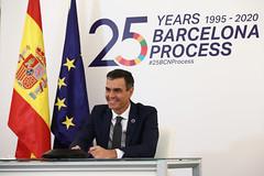 Pedro Sánchez apuesta por el Mediterráneo como zona de diálogo, prosperidad e integración (27/11/2020)