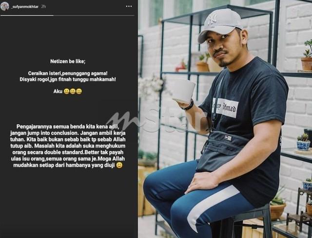 Da'i Syed Ditahan Kerana Dakwaan Rogol, PU Abu Minta Netizen Tidak 'Double Standard'