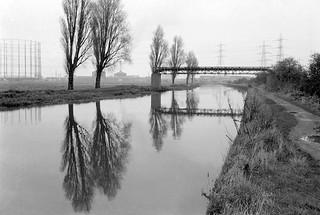 Lea Navigation, Tottenham Marshes, 1983 34l-31_2400