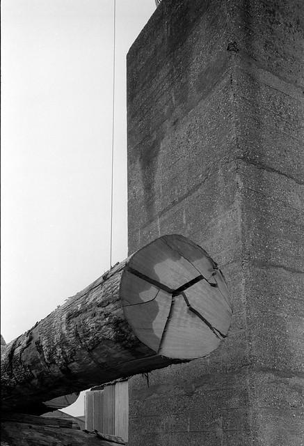 Timber yard, Towpath Road, Dorford Wharf, Edmonton, 1983 34l-15_2400