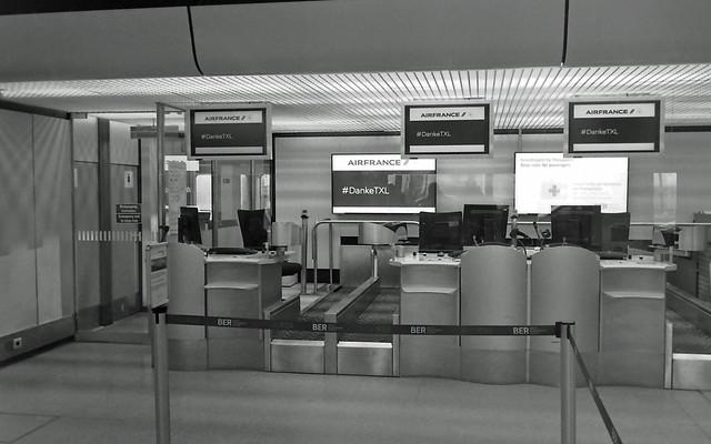Berlin Flughafen Tegel TXL 7.11.2020 Letzter Flugtag