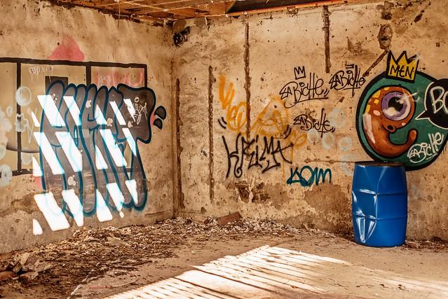 Urbex | Graffiti