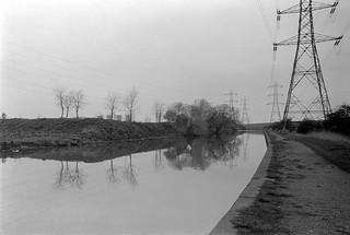 Lea Navigation, Brimsdown, Ponders End, 1983 34m-32_2400