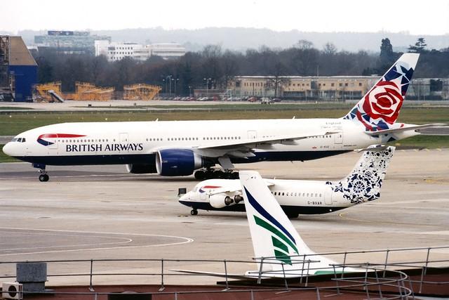 British Airways | Boeing 777-200ER | G-VIIO | Chelsea Rose | London Gatwick