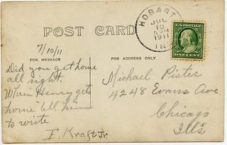2020-11-27. Kraft, Frank Jr., postcard b