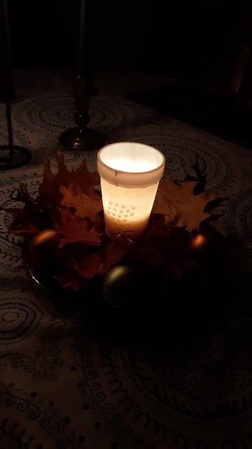 Thanksgiving centerpiece Nov 2020