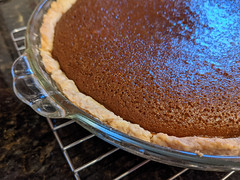 Pumpkin pie, latest in a series
