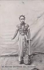 Sri Macotto (Famous Javanese Dancer), 1915