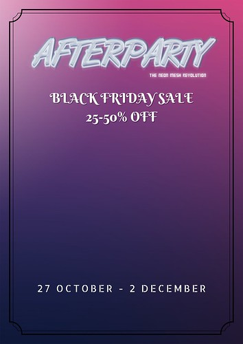 Black Friday Sale @ Afterparty
