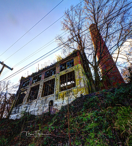 charlottesville virginia sunset church abandoned chimney