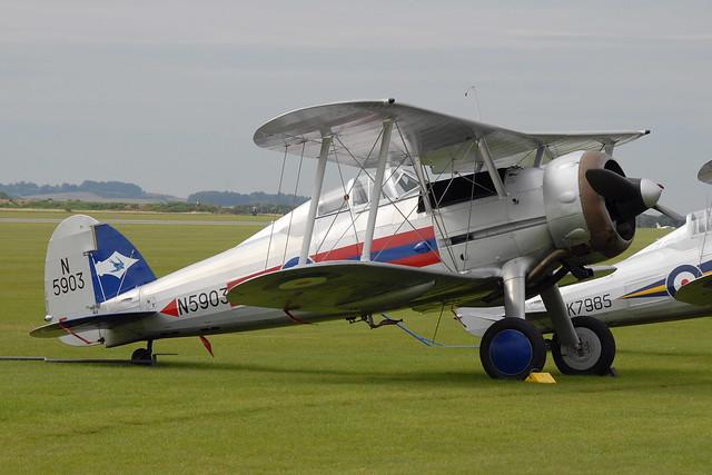 G-GLAD Gloster Gladiator (N5903)