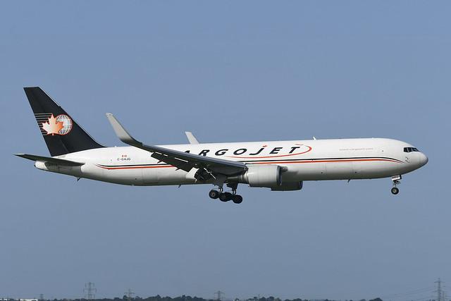 C-GAJG Boeing B767-323(SF) EGLL 17-09-20