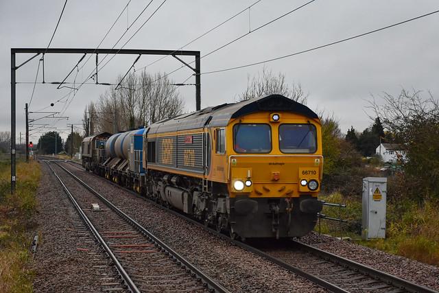 66710 t&t 66735 - Waterbeach - 25/11/20.