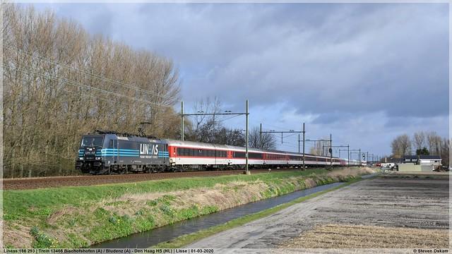 Lineas 186 293 | Lisse | 01-03-2020