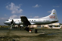 Convair 440 CP-2026, La Paz, Bolivia 23Sep94