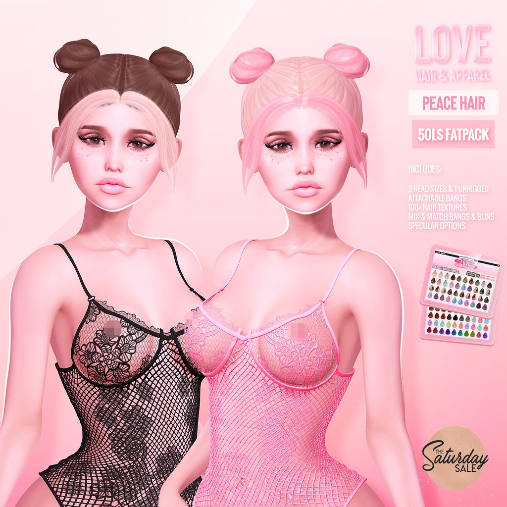 Love [Peace] Hair – 50L FATPACK @ The Main Store – The Saturday Sale!