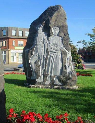 Mining Memorial, Coalville, Leicestershire