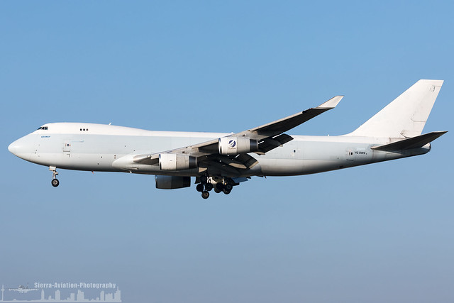 VQ-BWS Longtail Aviation Boeing 747-467F (FRA - EDDF - Frankfurt)
