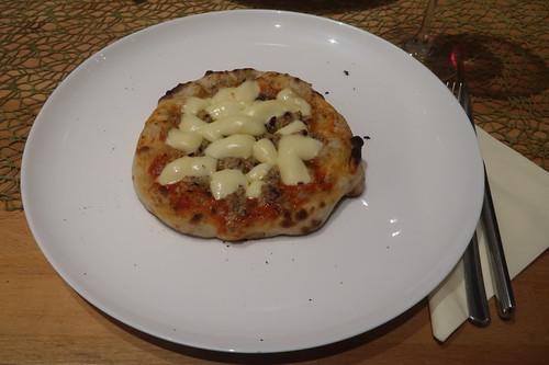 Kleine Pizza Tonno