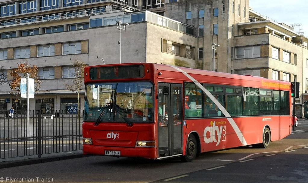 Plymouth Citybus 068 WA03BHX