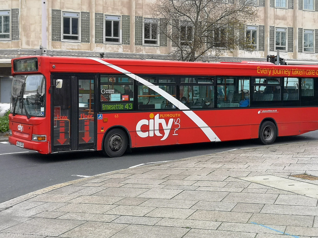 Plymouth Citybus 063 WJ52GOC