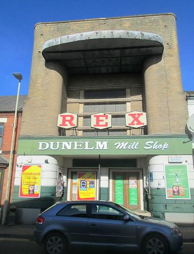 Frontage, Former Rex Cinema, Coalville