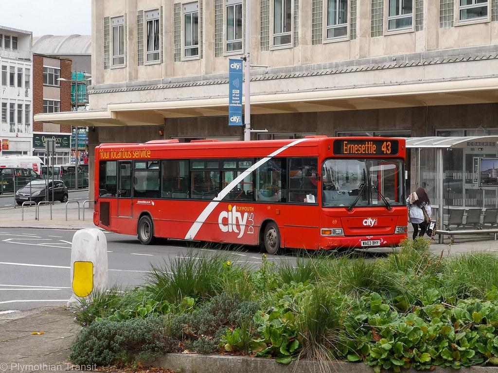 Plymouth Citybus 069 WA03BHY