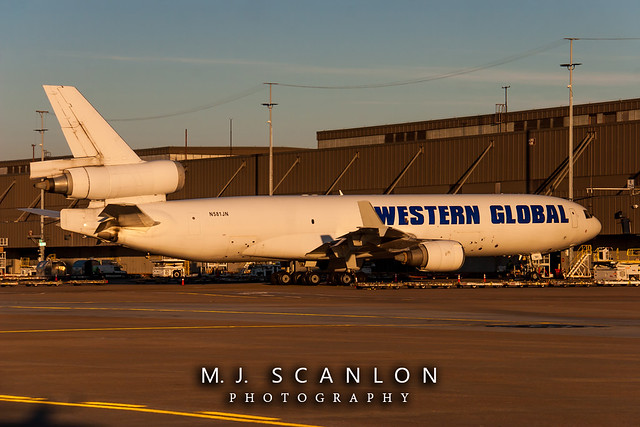 N581JN Western Global Airlines | McDonnell Douglas MD-11F | Memphis International Airport