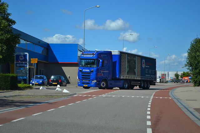 Scania S450NG Gerwin van Beek Barneveld