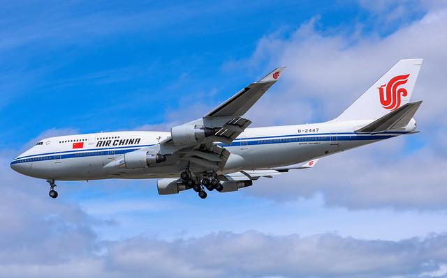 B-2447 Boeing 747-4J6 Air China