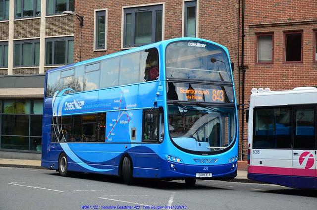 Yorkshire Coastliner 423 130430 York*