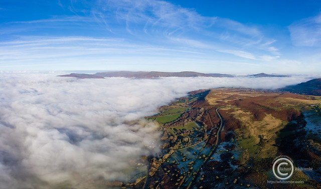 Foggy day in the Brecon Beacons