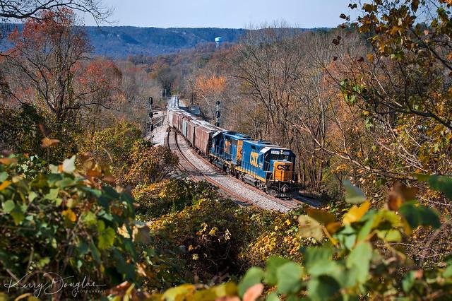 CSX M720-28 at Chattanooga, TN