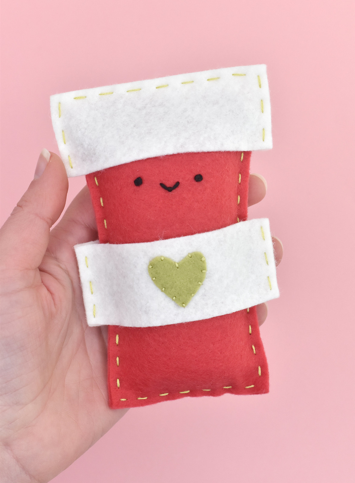 Red Cup Sew a Softie Project