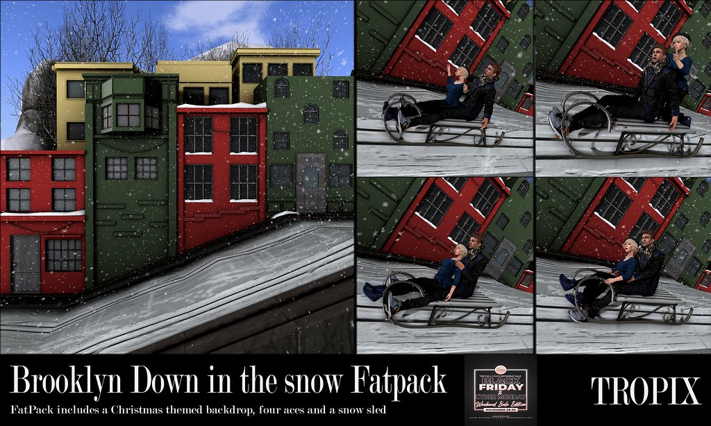 TROPIX // Brooklyn Down in the snow Fatpack – TSS