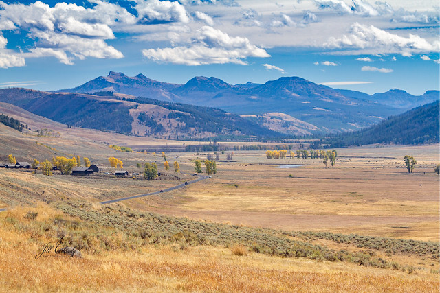Armchair Traveling - Lamar Valley, Yellowstone National Park