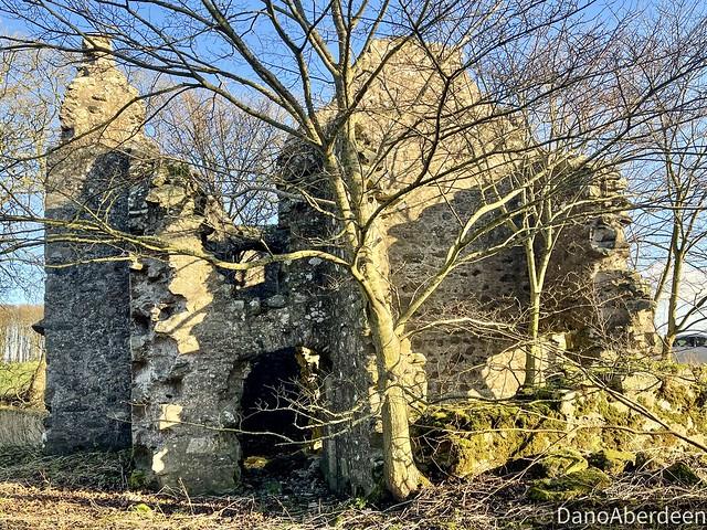 Esslemont Castle 14th Century - Aberdeen Scotland 20th November 2020