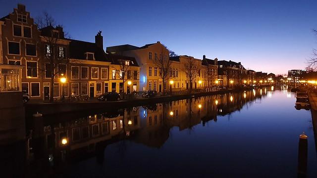 Leiden blue hour