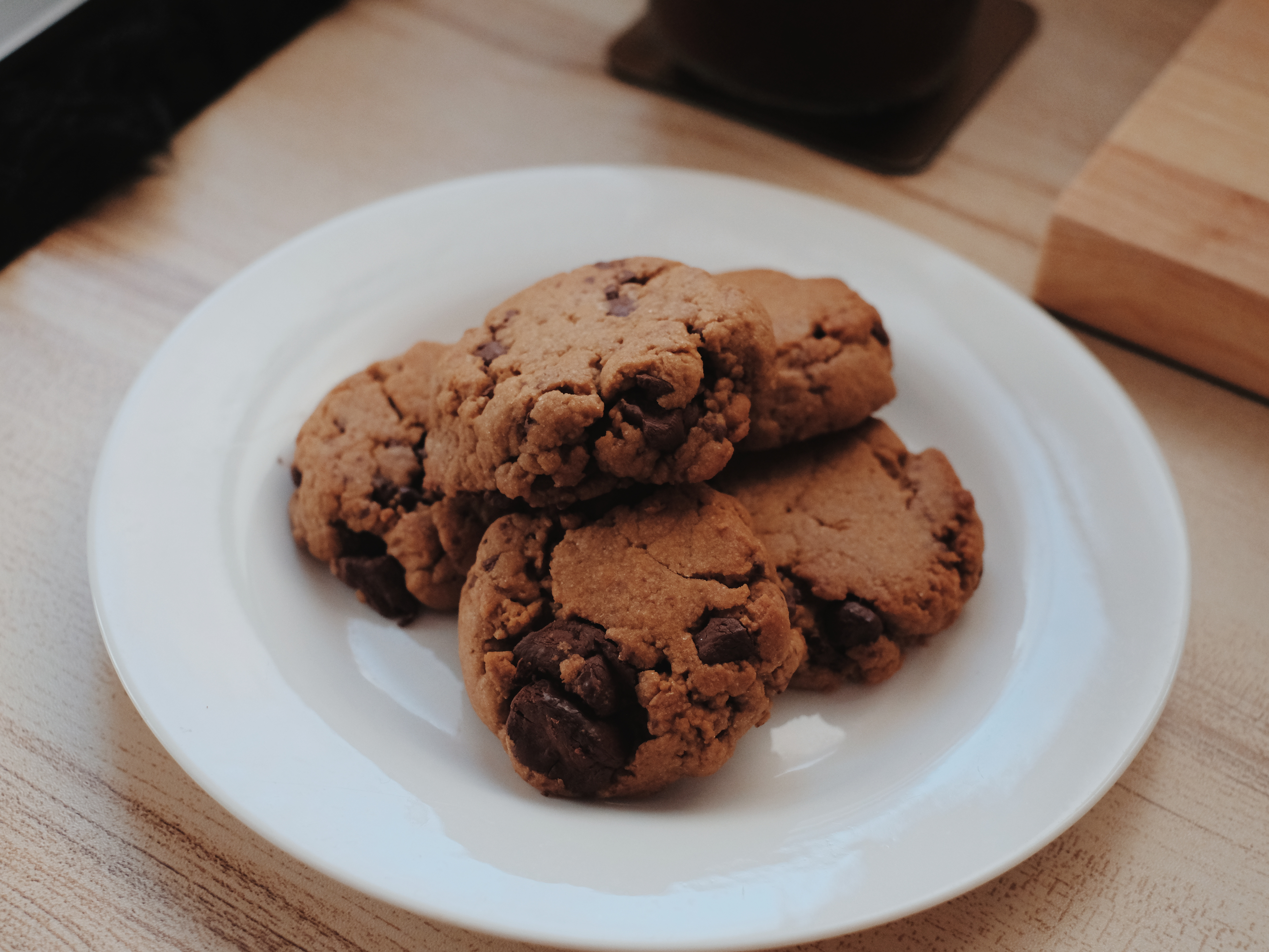 The Joy of Baking | Chocolate Chip Coffee Cookies