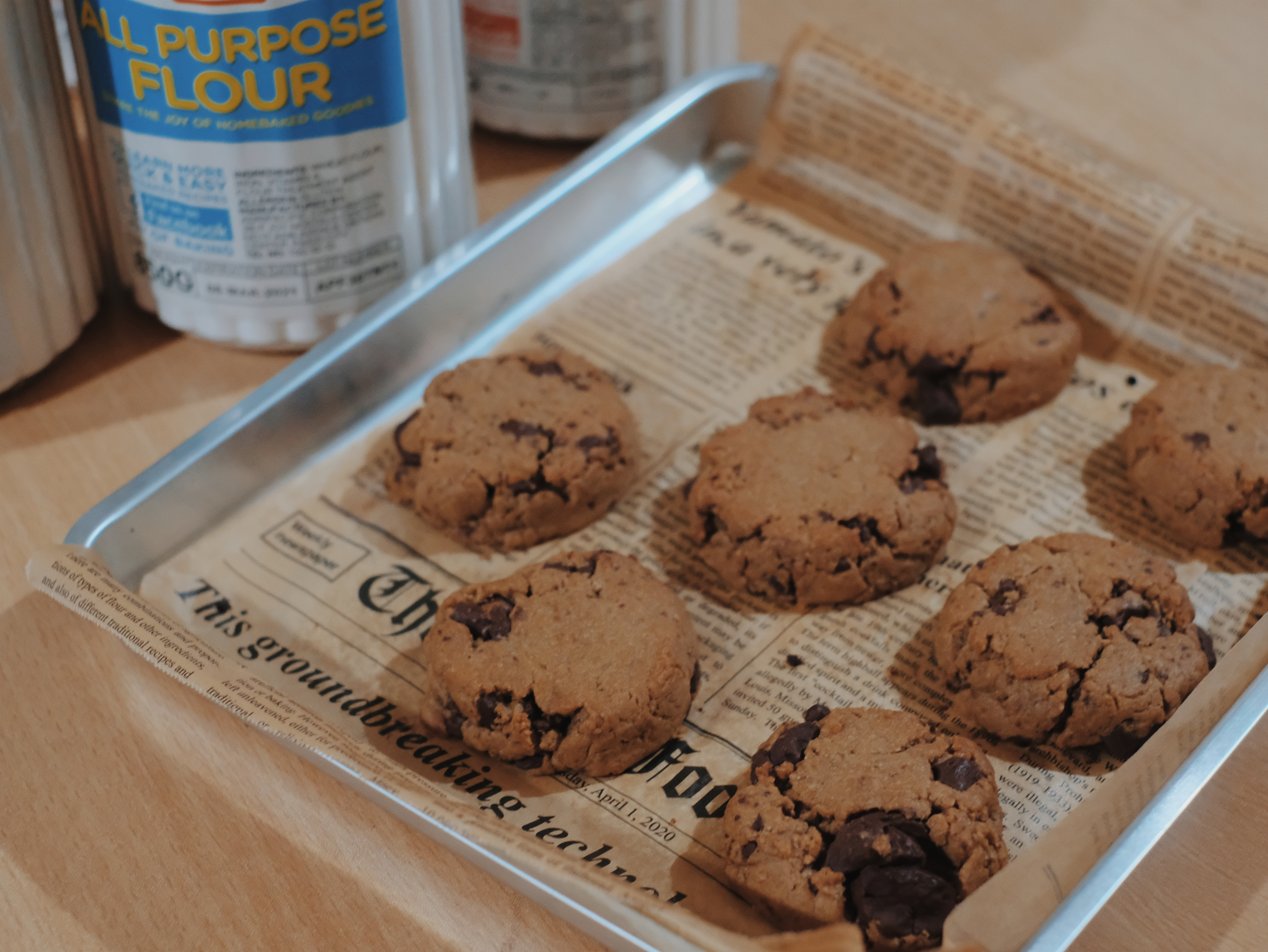 The Joy of Baking | Making Chocolate Chip Coffee Cookies