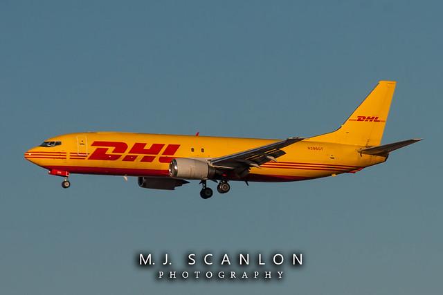 N306GT DHL | Boeing 737-45D(SF) | Memphis International Airport