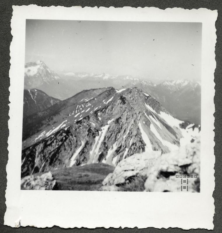 ArchivTappenZAl2a666 Alpenlandschaft, 1930er