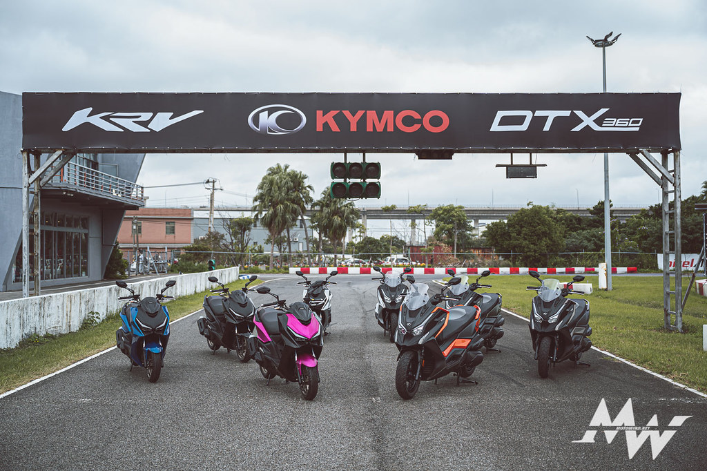 KYMCO 2020熱血時刻發表會_KRV DTX350試駕